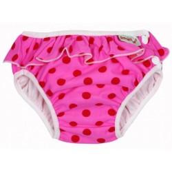 ImseVimse úszópelenka, pink pöttyös