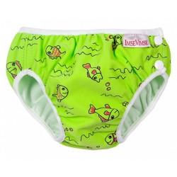 ImseVimse úszópelenka, zöld halacskás