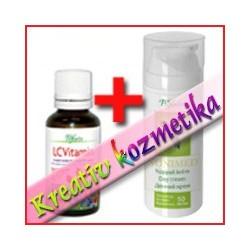 Kreatív kozmetika - Expressz arcpakolás (Nonimed nappali krém 50 ml + LCVitamin cseppek 30 ml)