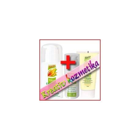 Bőrrugalmasító pakolás (Herba Gold Energia Krém 100 ml + Herba Gold Aktív Balzsam 75 ml + Nonimed nappali krém 50 ml)